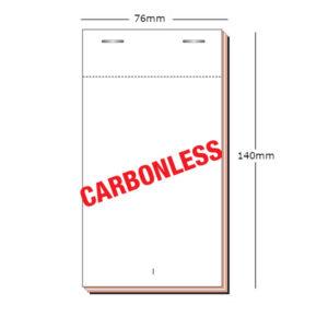 PAD20 / PAD200 carbonless order pad - available in duplicate or triplicate