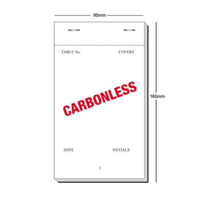 PAD35 carbonless duplicate order pad